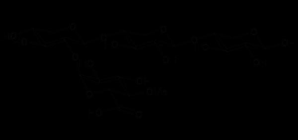 23-(4-O-Methyl-α-D-Glucuronyl)-xylotriose