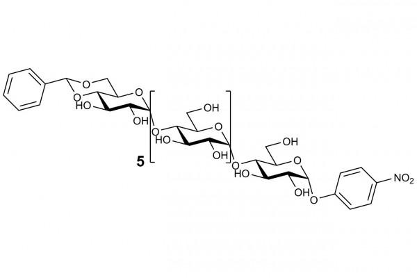 Blocked 4-nitrophenyl-alpha-maltoheptaoside O-BPNPC7