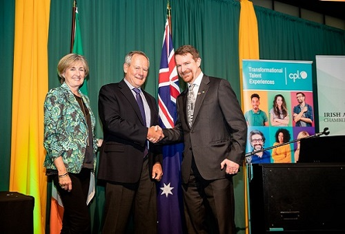 Red Cross fund Irish Australian Chamber of Commerce