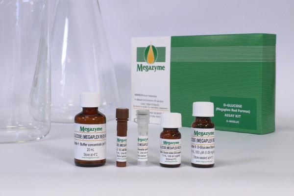 D-Glucose Assay Kit Megaplex Red K-MRGLUC MRGLUC