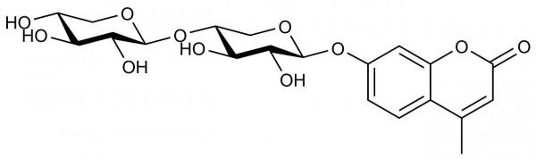 4-Methylumbelliferyl-beta-xylobioside O-4MUX2