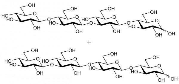 32-beta-D-Cellobiosyl-cellobiose + 33-beta-D-Glucosyl-cellotriose O-BGTETC