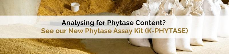 New K-PHYTASE Assay Kit News Megazyme