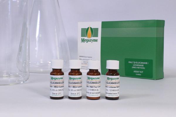 Malt beta-Glucanase-Lichenase Assay Kit MBG4 Method K-MBG4