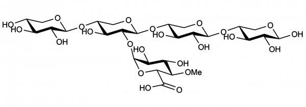 23-4-O-Methyl-alpha-D-Glucuronosyl-xylotetraose O-XUXX