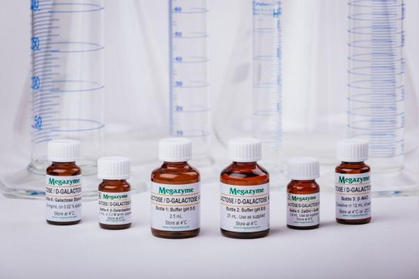 Lactose-Galactose Assay Kit Rapid K-LACGAR